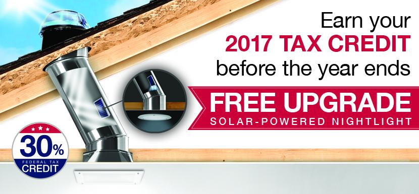 30% Tax Credit and Free Nightlight Upgrade